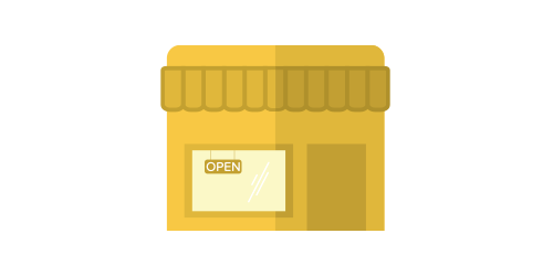 illustration of small business storefront