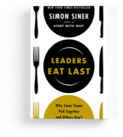 Leaders eat last book cover